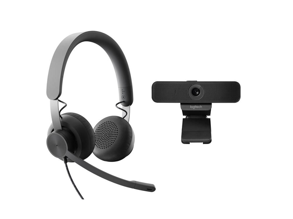 Logitech Wired Personal Video Collaboration Kit 002